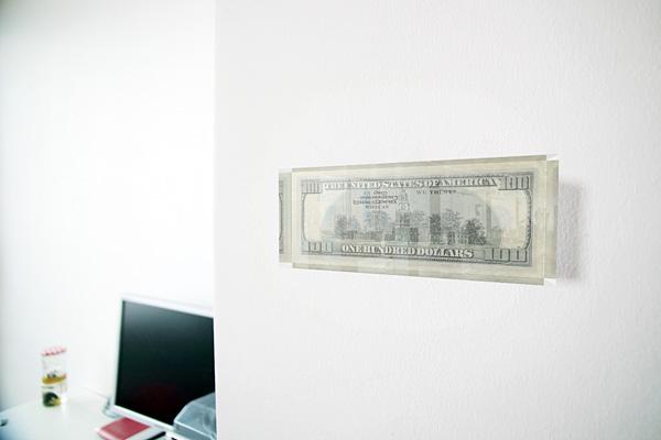 ralf kopp - Die Abwertung des Vertrauens - 100-Dollar-Schein