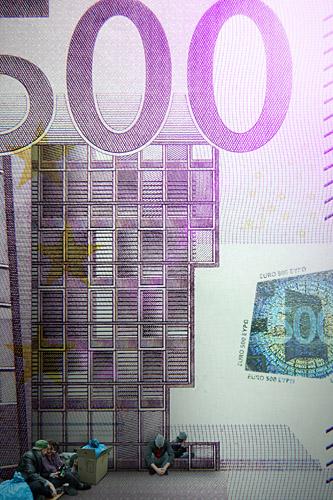 500 Euro Schein POMD - Realitätsprinzip - Ralf Kopp