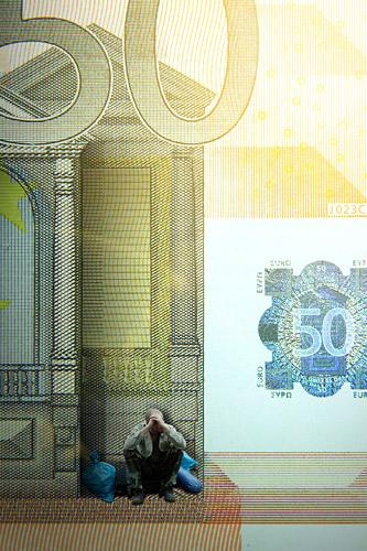50 Euro Schein POMD - Realitätsprinzip - Ralf Kopp