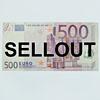 ralf kopp - sellout - 500-Euro-Schein - Geldkunst
