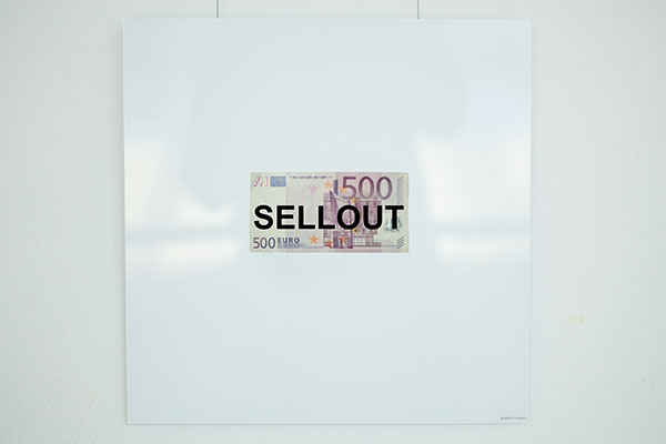 ralf kopp - sellout - 500-Euro-Schein