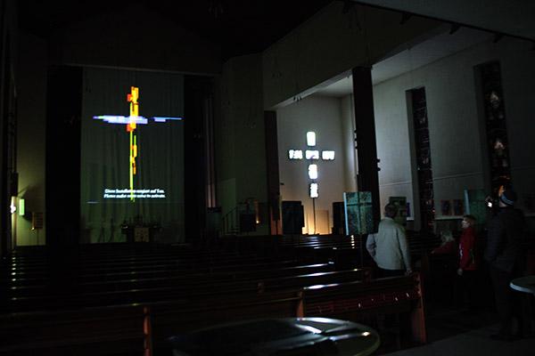 Matthäuskirche, Frankfurt, Ralf Kopp, luminale 2012