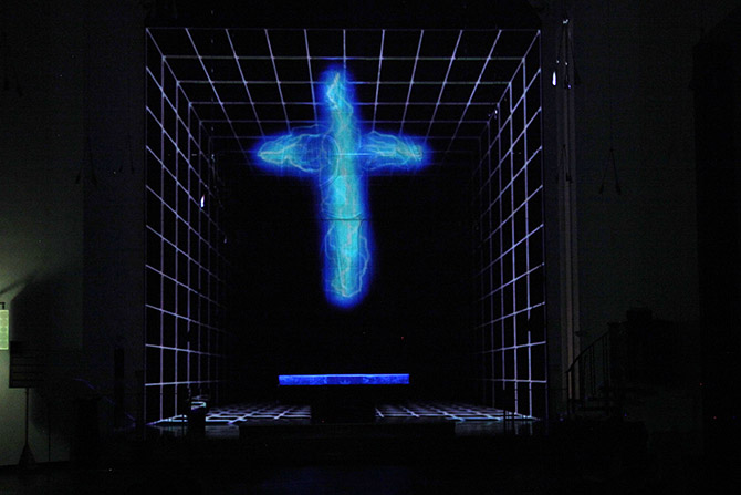 Luminale, Ralf Kopp, Matthäuskirche Frankfurt