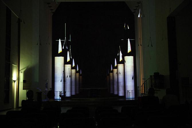 Videokunst Luminale Matthäuskirche
