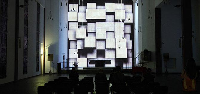 Videokunst Kirche Luminale Ralf Kopp