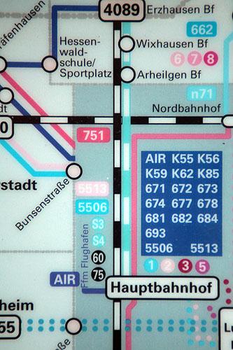 ralf kopp - aCROSS 019 - kreuz - darmstadt - rmv heag fahrplan