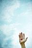 Handzeichen, ralf kopp - Dualsymbolik I 01 - Hand Jesu
