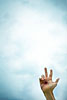 Handzeichen, Schwur, Schwören, ralf kopp - Dualsymbolik I 02 - Hand Jesu