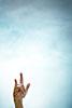 Handzeichen, Satansgruß, Mano cornuta, gehörnte Hand, Untreue, Aberglaube, ralf kopp - Dualsymbolik I 04 - Hand Jesu