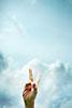 Handzeichen, Zeichen des Sieges, Peace, Victory-Zeichen, ralf kopp - Dualsymbolik I 07 - Hand Jesu