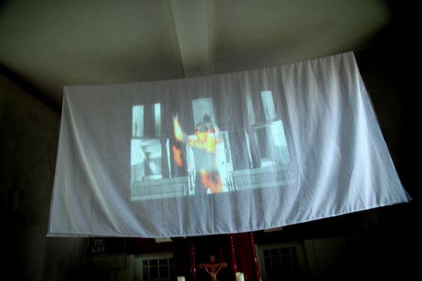 ralf kopp - Zeitgenössische Kunst in Kirchen der Wetterau | Enzheim - Sichtbarmachung