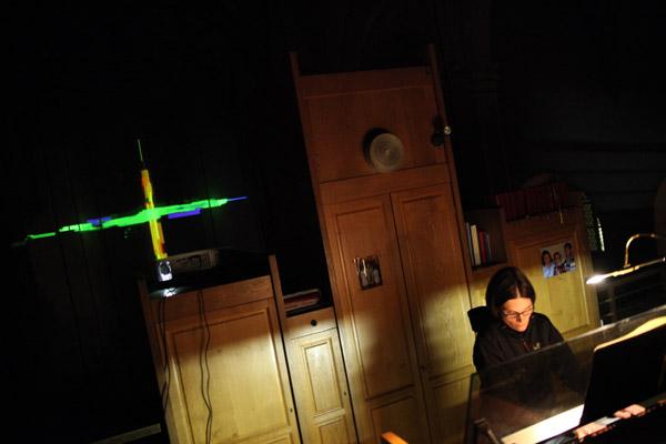 audioreaktive Videoinstallation, Nacht der Kirchen 2013, ralf kopp