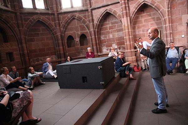 Eröffnungsansprache von Pfarrer Stefan Bergmann - Stiftskirche Kaiserlslautern
