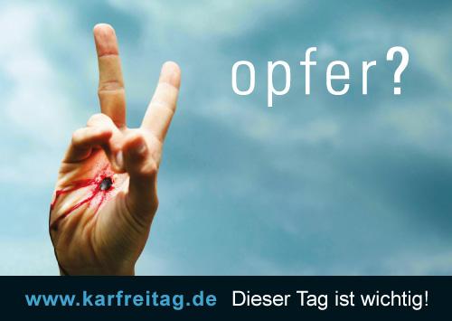 Dualsymbolik - EKHN - Karfreitag - Postkarte